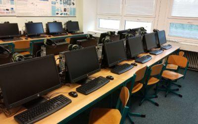 Fotografie projektu Modernizace multifunkční odborné učebny vzákladní škole