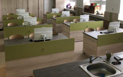 Fotografie projektu Vybudování laboratoře přírodních věd vzákladní škole