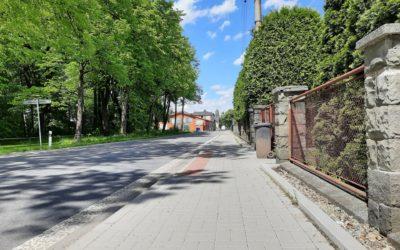 Fotografie projektu Rekonstrukce chodníků vobci Baška