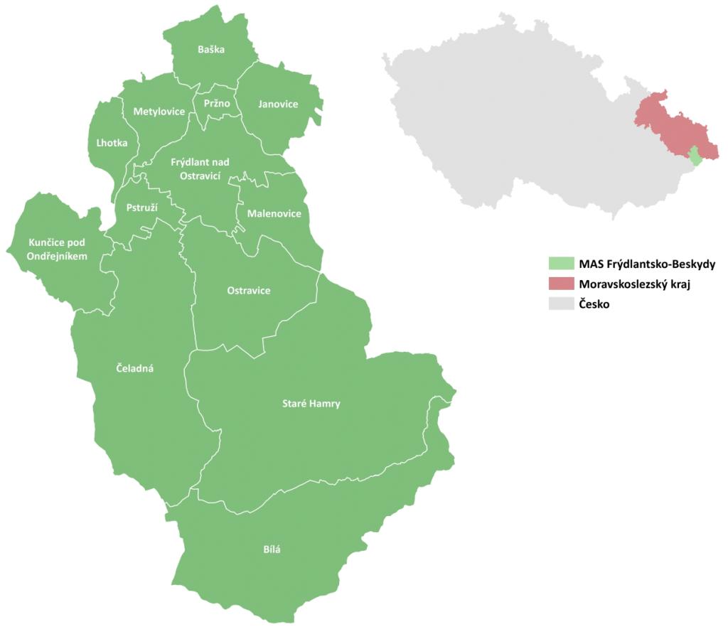 Rozvíjené území MAS Frýdlantsko Beskydy